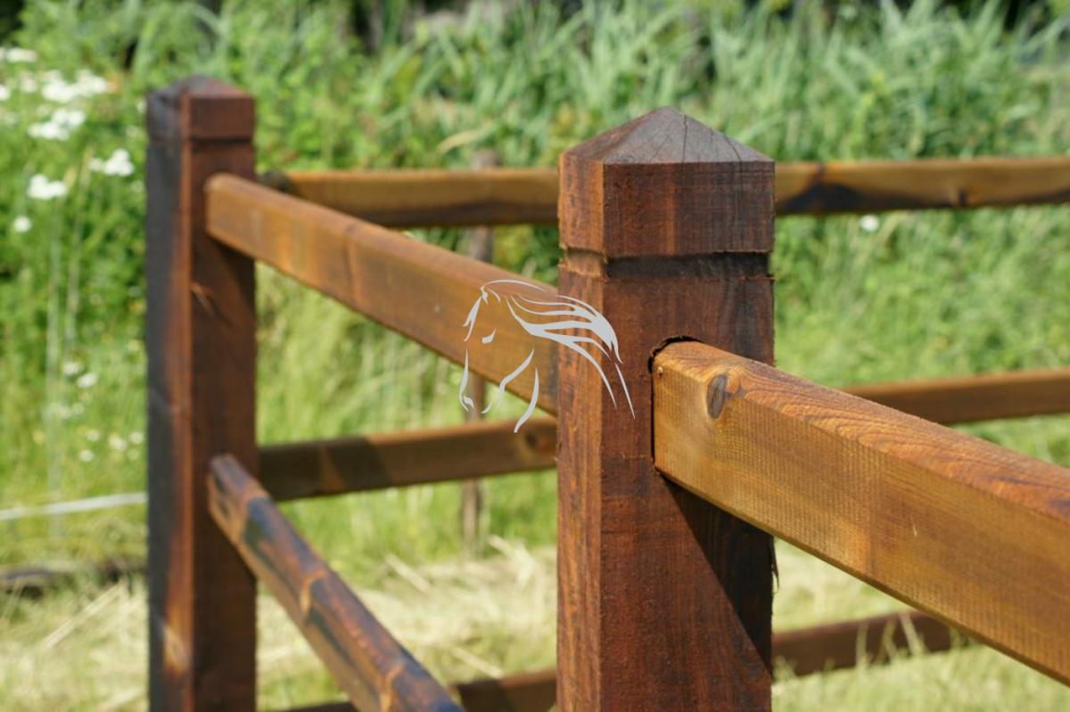 Veld's bouwpakket, omheining, weide paddock rijbak